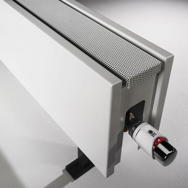 Linea Plus model stojący - głowica Deco - chrom/biały