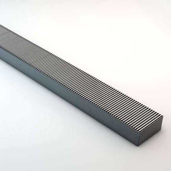 Grzejnik Clima / Quatro Canal - kratka aluminiowa