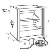 Pojemnik mieszający powietrze - Nagrzewnice Jaga AVS
