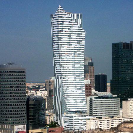 Złota 44 - budynek