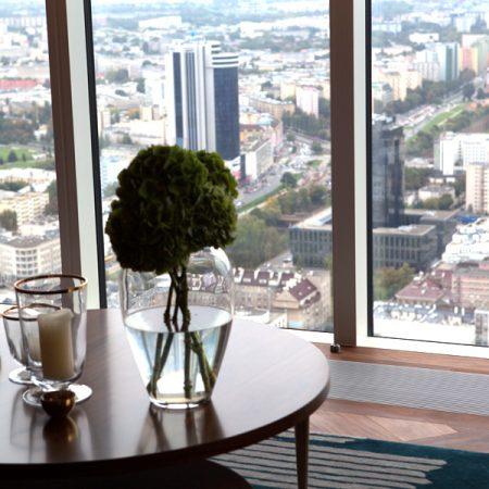 Złota 44 - apartament 50 piętro