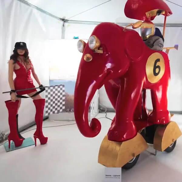 Parada słoni - grzejniki Jaga
