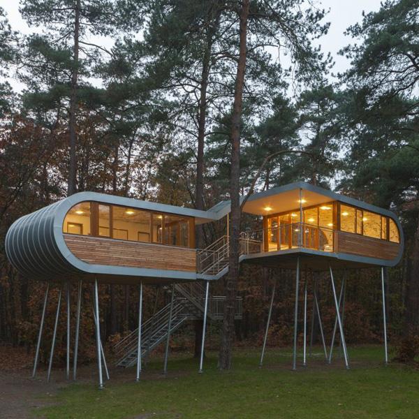 Domek na drzewie - Jaga