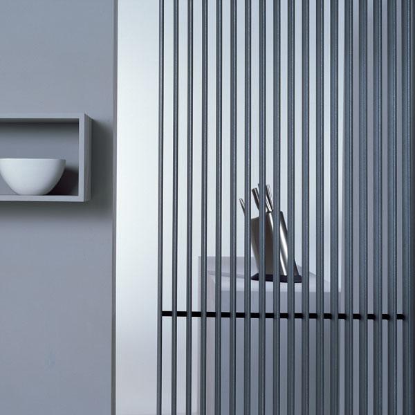 Grzejnik Deco Space - montowany prostopadle do ściany
