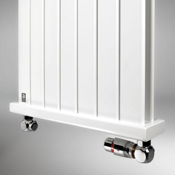 Grzejnik Deco Panel - zestaw Jaga DECO - chrom
