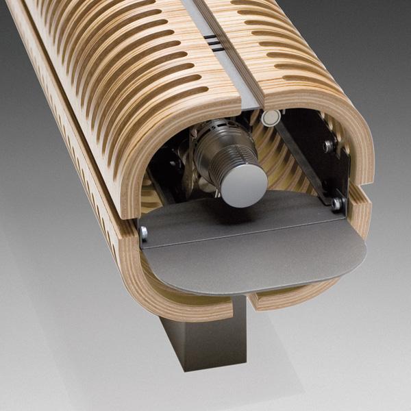 Grzejnik Knockonwood DBE - głowica termostatyczna