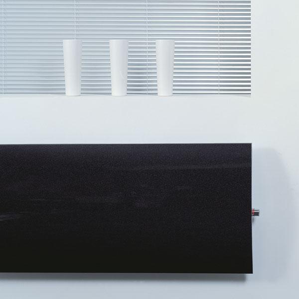 Grzejnik Geo - model poziomy - czarny
