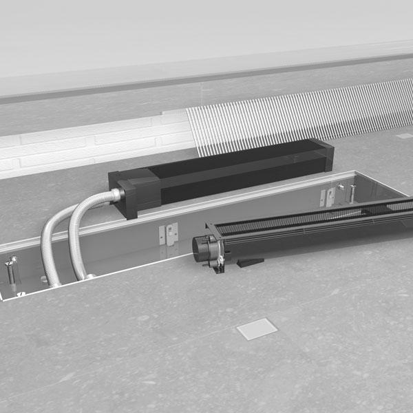 Grzejnik Micro Canal - łatwe czyszczenie