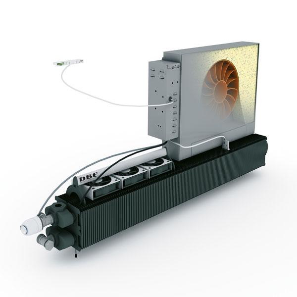 Jednostka wentylacyjna Oxygen ze sterownikiem eCAB - możliwość sterowania grzaniem, chłodzeniem i wentylacją