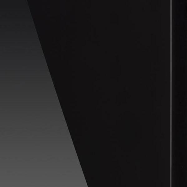 Materiał GLOW - lakier fortepianowy czarny lub biały