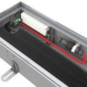 Zasilacz wbudowany w korytko grzejnika Mini Canal DBE