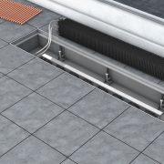 Podłączenie za pomocą elastycznych wężyków ze stali nierdzewnej