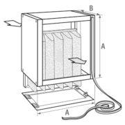 Pojemnik z filtrem - Nagrzewnice Jaga AVS
