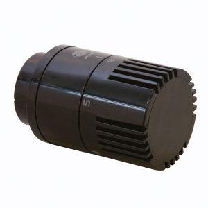 Głowica termostatyczna Jaga - czarna