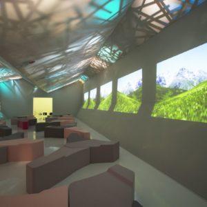 Wnętrze Experience Lab