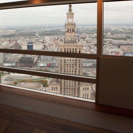 Złota 44 - widok z 50 piętra
