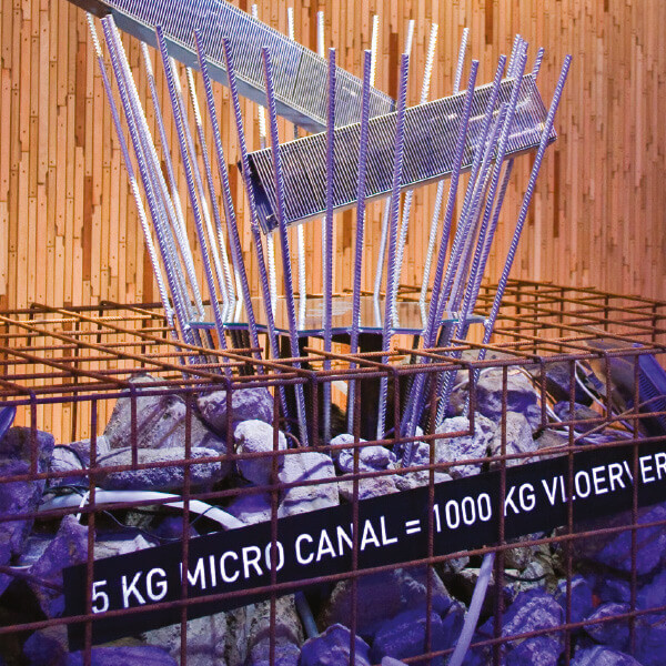 Grzejnik kanałowy Micro Canal