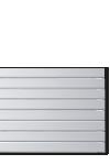 Grzejniki dekoracyjne, poziome - Panel Plus